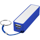 Jive powerbank 2000 mAh - Koningsblauw/Wit