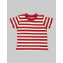 Baby Stripy T 3-6 Monate Red/Washed White