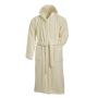 Bath Robe Hooded naturel