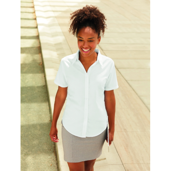 Lady-Fit s/s Oxford Shirt
