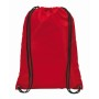 210D polyester rugzak TOWN - rood