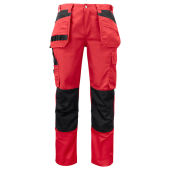 Projob 5531 WORKER PANT RED C50