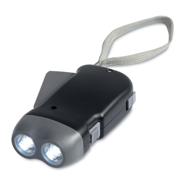 ROBIN - 2 LED dynamo torch
