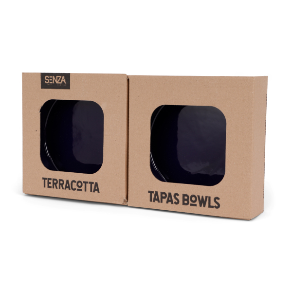 SENZA Terracotta Tapas Medium Blauw /2