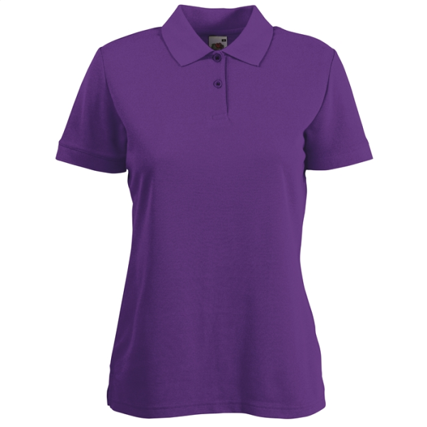 65/35 POLO LADY-FIT  63-212-0 - Vrouwen Poloshirt 170/180 g/