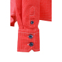 Ladies' Shirt - rood/navy-wit
