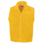 Active Fleece Bodywarmer S Yellow