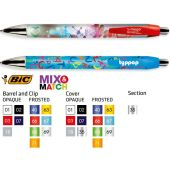 Bic Wide Body Digital Chrome balpen