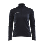 Craft Progress halfzip tee LS wmn black/black xxl