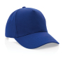 Impact 5 panel 280gr recycled katoenen cap met AWARE™ tracer