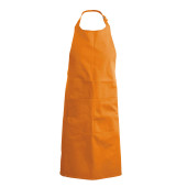 Apron - halterschort burnt orange one size