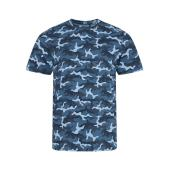 AWDis Camo T-Shirt, Blue Camo, L, Just Ts