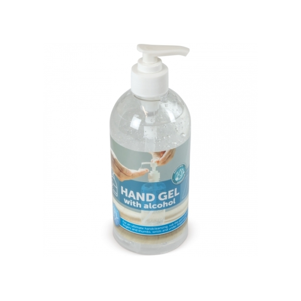 Hand cleaning gel met Alcohol 500ml