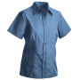 Ladies' Blouse Short blauw