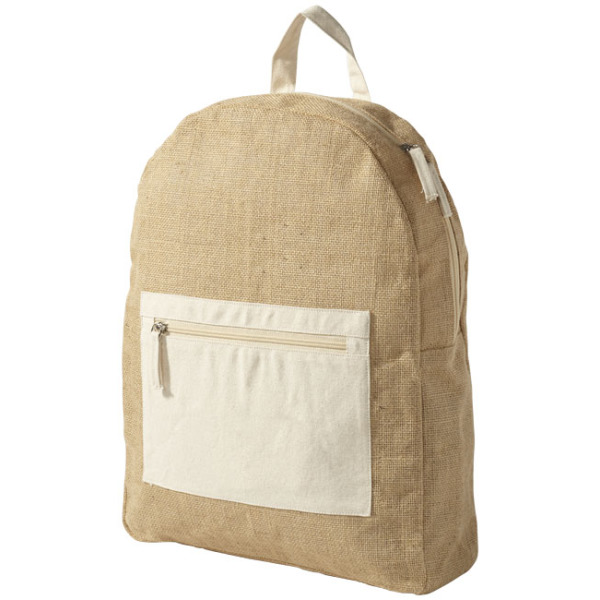 Organ jute backpack
