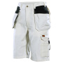 2160 Shorts White Line  White/Black C56