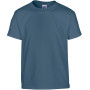 Heavy cotton™classic fit youth t-shirt indigo blue (x72) '5/6 (s)
