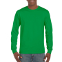 Gildan T-shirt Ultra Cotton LS Irisch Green XL
