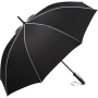 AC midsize umbrella FARE®-Seam - black-light grey