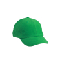 6 Panel Raver Cap varengroen