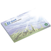 101 mm x 75 mm 25 Sheet Adhes. Notepads ECO Recycled paper