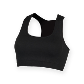 Dames Work Out Cropped Top