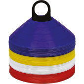Afbakenkit x 60 royal blue / white / red / yellow one size