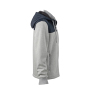 Men's Jacket Teddy Lined - sport-grijs/navy