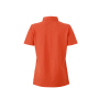 Ladies' Plain Polo donkeroranje/blauw-oranje-wit
