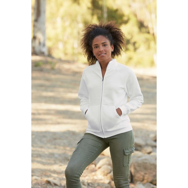 Lady sweat jacket (62-116-0)