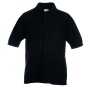 Kids 65/35 Polo, Black, 14-15jr, FOL