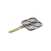 Barbecue hamburgergrill - Hout