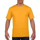 Gildan T-shirt Premium Cotton Crewneck SS for him Gold S