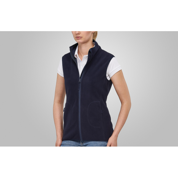 Macseis Soft Fleece Vest for her Blue Navy