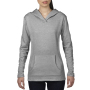Anvil Sweater Hooded French Terry for her Heather Grey-35% Korting XXL