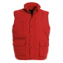 Bodywarmer Explorer / Unisex M Red