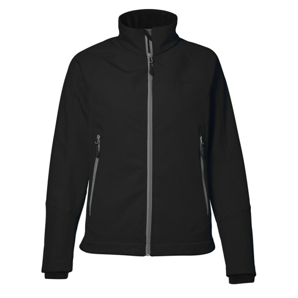 Functional soft shell jacket
