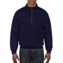 Gildan Sweater 1/4 Zip HeavyBlend navy XXXL