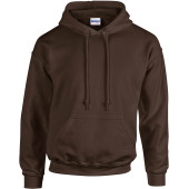 Heavy blend™ classic fit adult hooded sweatshirt dark chocolate m