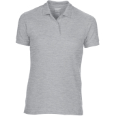 Dryblend® semi-fitted ladies' double piqué polo