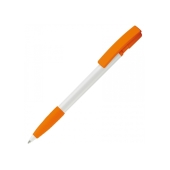 Balpen Nash grip hardcolour - Wit / Oranje