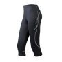 Men's Running 3/4 Tights zwart