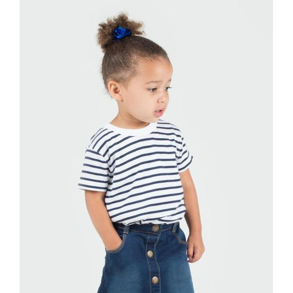 Baby/Toddler Striped Crew Neck T-Shirt