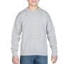 Gildan Sweater Crewneck HeavyBlend for kids sports grey M