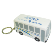 Anti-stress bus sleutelhanger