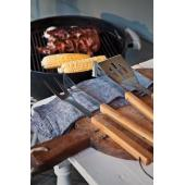 3-delige bamboe barbecue set