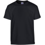 Heavy cotton™classic fit youth t-shirt black '7/8 (m)
