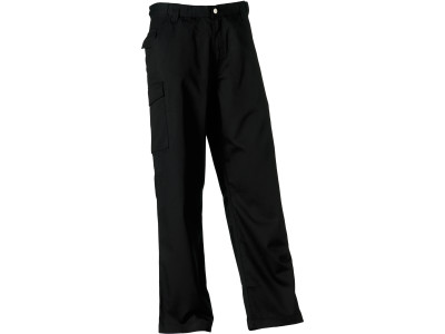 Polycotton twill trousers