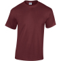 Heavy cotton™classic fit adult t-shirt maroon m