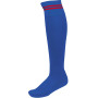 Sportsokken met contraststrepen dark royal blue / sporty red '47/50 eu
